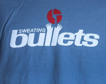 Sweating Bullets t-shirt - Denim Blue