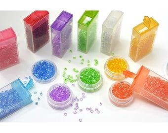 Diamond Pastel Topping Set 8/Pkg - Queen & Co
