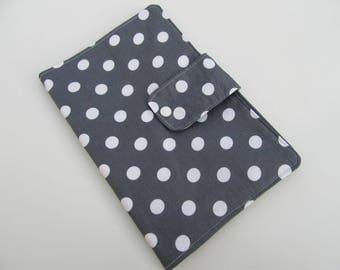 Nappy Wallet - Dark Grey Spots