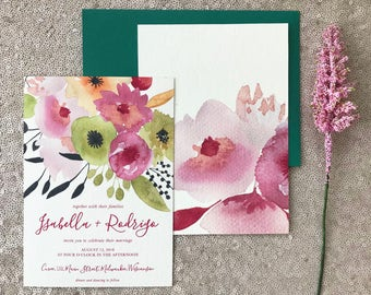 The Isabella Collection—Four-Piece Wedding Invitation Suite (Pack of 10)