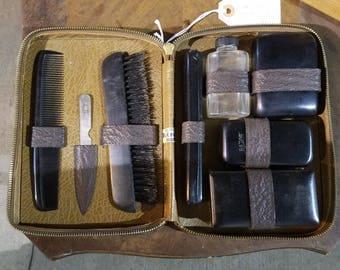 Vintage Mens Shaving and Grooming Kit