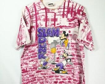 VTG T-shirt MICKEY full frint slam dunk