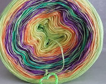 """Color gradient yarn """"Colours"""""""