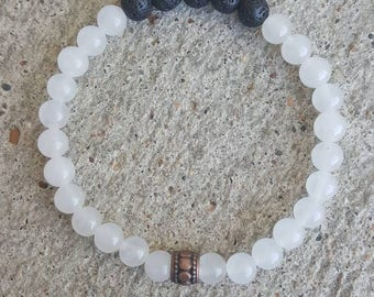 Essential oil diffuser bracelet. Aromatherapy jewelry. Handmade jewelry. Natural gemstone diffuser bracelet. Bohemian. Yogi. Gift. Natural.