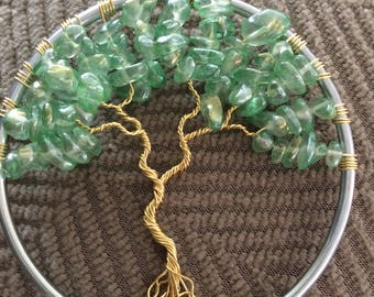 "Tree of Life 3"" sun catcher"
