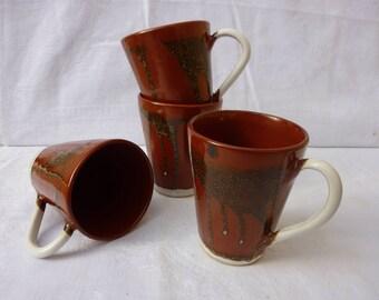 Iron red mug