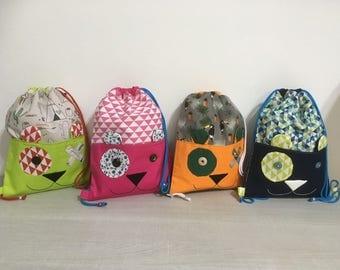 Backpacks Pet Lined