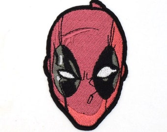 Comic Deadpool Iron on Embroidered patch Appliqué