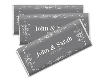 Chocolate Bar Wrappers, Editable Chocolate Bar Wrapper, Chocolate Wedding Favor, Candy Bar Wrapper, Candy Bar Template, Party Favor