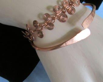 Copper  Pain Relief bracelet set