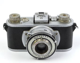 Limited time offer First Kodak 35 Camera with Anastigmat Special 50mm f/3.5 Lens (1938-1948)