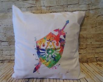 Legend of Zelda Shield Pillow