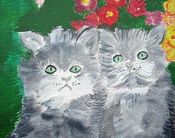 TABLE KITTENS - THE KITTEN