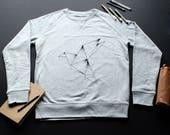 Origami Sweatshirt / / ma...