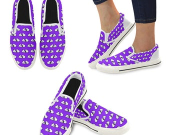 Snoopy Slip-on Canvas Women's Shoes