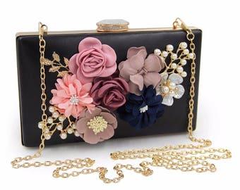 Black clutch, Envelope clutch, Bridal clutch, Bridesmaid clutch, Evening clutch, Evening purse, Party clutch, Clutches, Clutch, Evening bag