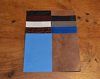 10 coupons from genuine cowhide leather (8738737)