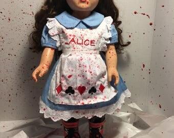 Alice creepy doll