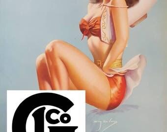 "GP9147 ""Girl Of The Golden West"" by Billy Devorss"