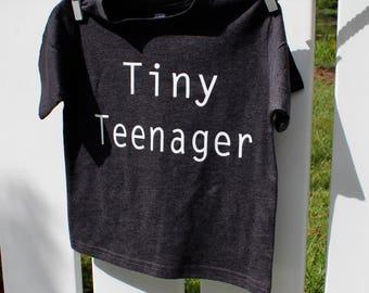 Tiny teenager, toddler girl clothes, toddler shirt, little girl, soft shirt, cute toddler clothes, girl clothing, hipster toddler, toddler