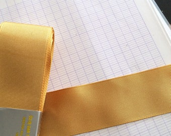 Ribbon 4 cm color that goes good quality gold