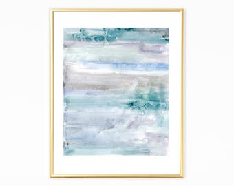 Neutral Watercolor,Blue and Grey Abstract Art, Wall Art Printables, Art Print Downliads, Instant Download,Printable Neutral Art, Blue Art