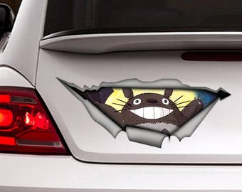 Totoro Decal Etsy - Create car decalsanime decal etsy