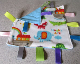 New! Handmade Tag Blanket <Noah's Ark> Free Shipping!