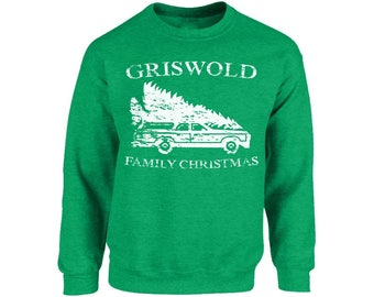 Griswold Christmas Sweatshirt Griswold Family Christmas Sweatshirt Ugly Christmas Sweater Funny Tacky Party Holiday Sweater Ugly Xmas Gifts