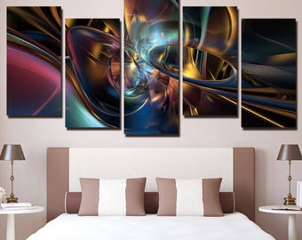 Abstract Wall Art, Abstract Canvas Art, Abstract Large Canvas Print, Abstract Wall Decor, Abstract Canvas Painting Framed