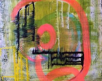 Abstract Painting / Original Art / Contemporary Art / 16x20
