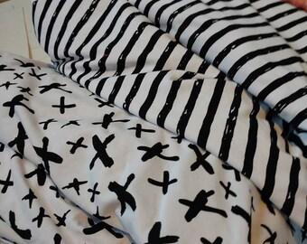 Rockerbye Destash Custom Fabric Coordinate X PRINT ONLY