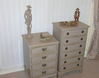 Vintage Chests of Drawers.