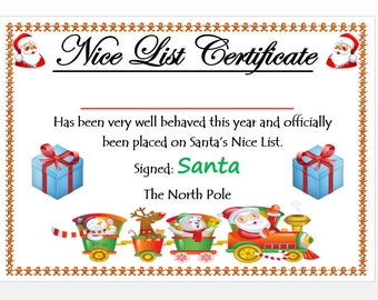20 new letter from santa good list pics complete letter template nice list etsy from letter from santa good list image source etsy spiritdancerdesigns Image collections