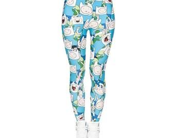 Finn Adventure Time Leggings