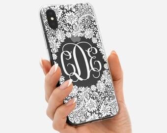 iPhone 8 Plus Case MONOGRAM iPhone 7 Plus Case iPhone 6s Plus Case iPhone 6 Plus Case iPhone 6s Case Clear iPhone X Case iPhone SE Case Cute
