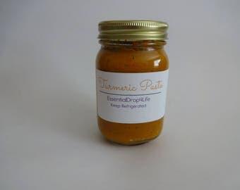 Organic Golden Turmeric Paste -  New Size 16 oz