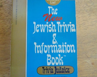 The Jewish Trivia & Information Book, 1994 , Ian Shapolsky , Trivia Judaica