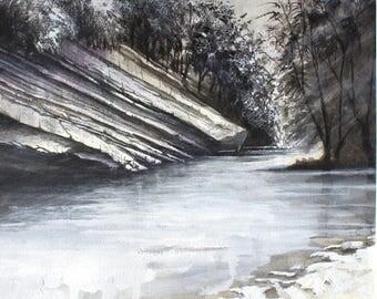Santerno river (Mugello, Tuscany)