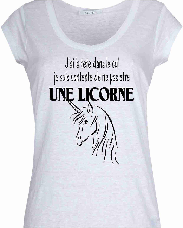 licorne t shirt femme new design. Black Bedroom Furniture Sets. Home Design Ideas