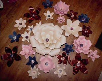 Handcrafted paper flowers