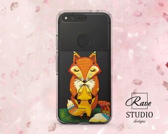 Fox case Cute fox Google Pixel xl 2 Red fox print Pixel 2 xl Fox phone case Pixel xl case Pixel 2 xl case Google Pixel 2 Pixel xl phone case