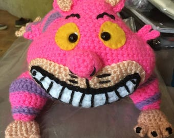 Cheshire Cat Alice in Wonderland Crochet