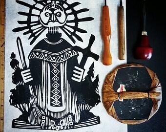 Aboriginal Print- Aboriginal Artwork- Aboriginal Design- Aboriginals- Aboriginal Art- Mayan Art- Mayan Culture- Mayan Decor- Indigenous