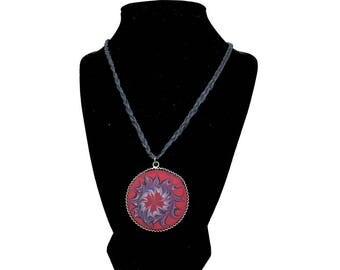 Vision – Art on Glass Necklace – one size fits all