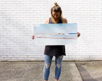 """Dream Beach-Archival-Cold Press-Minimalistic-Photographic Print-15"""" x 30"""""""