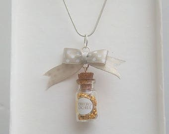 Ferrero Rocher necklace.