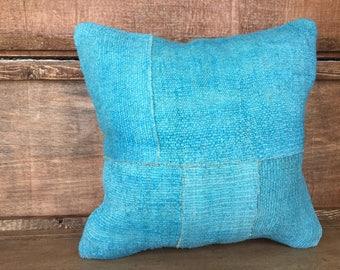 "Turkish kilim pillow,hemp pillow,decortive kilim pillow.kilim pillow cover,kilim cushion cover,boho pillow,decorative pillow 20""x20"" pillow,"