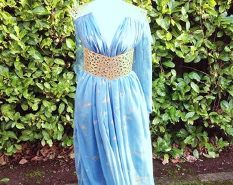 Daenerys Targaryen Blue Qarth Dress Game of Thrones