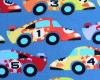 Speedster Printed Fleece Tied Blanket